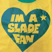 SLADE YELLOW RINGER T SHIRT